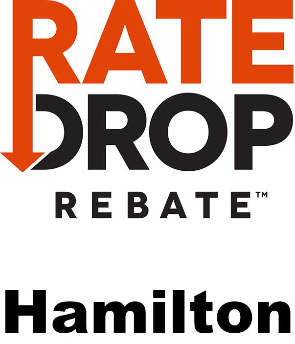 Rate Drop Rebate Hamilton