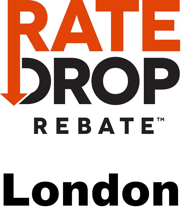 Rate Drop Rebate London
